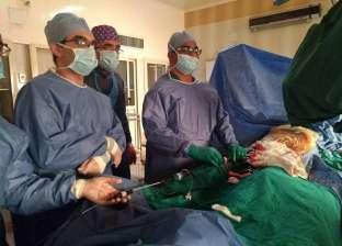 إنقاذ حياة مسن وإجراء قسطرة داخلية بمستشفى أسيوط الجامعي