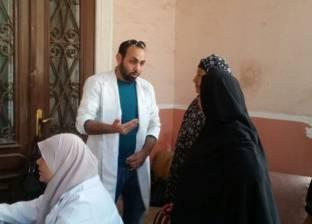 """قافلة """"صحة الإسكندرية"""" تعالج 945 مريضا بزاوية عبد القادر بالعامرية"""