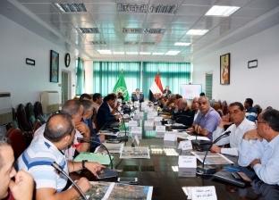 محافظ القليوبية يعقد اجتماعا تنسيقيا موسعا لتنفيذ خط غاز طبيعي جديد