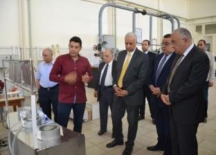 الطاقة المتجددة ودوائر هيدروليكية.. مشروعات تخرج طلاب هندسةالإسكندرية