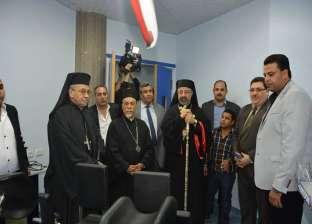 بطريرك الأقباط الكاثوليك يفتتح مستشفى العائلة المقدسة في سوهاج