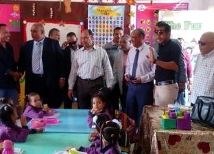 رئيس القنطرة شرق يتفقد عددا من المدارس