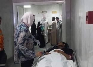 """وكيل """"صحة البحر الأحمر"""" تزور مصابي حادث طريق """"مرسى علم – إدفو"""""""