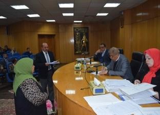 """محافظ المنيا يوجه بإزالة تعديات على أملاك """"ري"""" في قرية دماريس"""