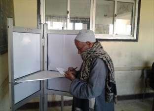 """اللجان الانتخابية بـ""""مصر الجديدة"""" تستقبل الناخبين بـ""""تسلم الأيادي"""" و""""بشرة خير"""""""