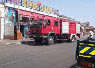 حريق يتهم محتويات شقة في السادس من أكتوبر