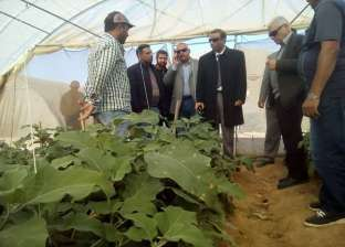 سكرتير عام جنوب سيناء يتفقد المشروعات بمدينة رأس سدر