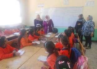 بالصور| نائب رئيس مدينة دهب: بداية العام الدراسي الجديد مبشرة بالخير