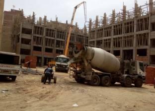 محافظ القليوبية يتابع أعمال إنشاء وتجهيز مجمع مدارس في الخصوص