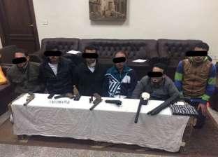 """""""الأمن العام"""": القبض على 9 متهمين بممارسة أعمال البلطجة"""