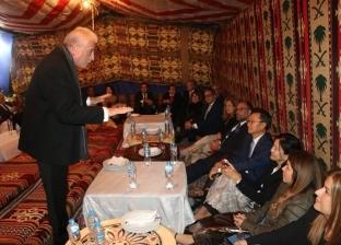 عشاء بدوي وإنشاد ديني في ختام فعاليات ملتقى سانت كاترين للسلام