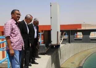 """الهجان ورئيس """"جنوب الوادي"""" يتفقدان المنشآت الخدمية بمدينة قنا الجديدة"""