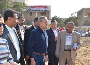 محافظ الإسماعيلية يتابع إنشاء مدرسة فاطمة الزهراء للتعليم الأساسي