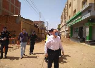 محافظ الشرقية يتابع أعمال تطهير وتعقيم الشوارع