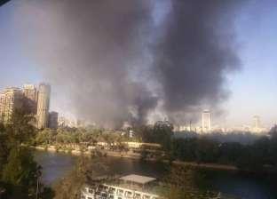 """""""النيابة"""" تواصل التحقيق في حادث حريق نادي الجزيرة الرياضي"""