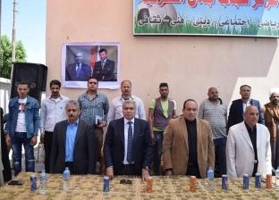 """""""مركز شباب ومدرسة وكوبري"""".. محافظ المنيا يفتتح مشروعات لخدمة الأهالي"""