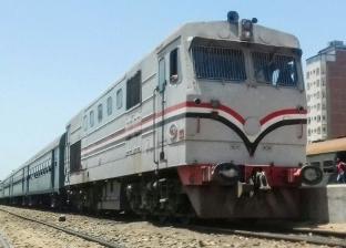 تعطل قطار ركاب 70 دقيقة في سوهاج