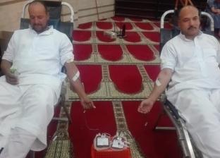 """""""صحة كفر الشيخ"""" تواصل حملة """"قرية متبرعة نحو دم آمن"""""""