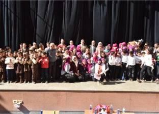 سكرتير عام المحافظة يشهد احتفال أعياد الطفولة بقصر ثقافة أسيوط