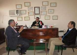 بالصور| رئيس مدينة أبورديس يطالب الجهات بتشديد الحملات الأمنية بالمدينة
