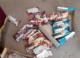 ضبط أغذية أطفال منتهية الصلاحية بمحل بقالة في طنطا