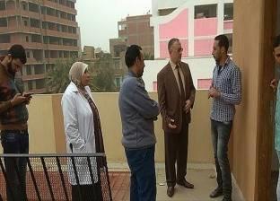 مدير التأمين الصحي بالشرقية يتابع أعمال التطوير بعيادة منيا القمح