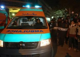"""إصابة 11 مواطنا في انقلاب حافلة بـ""""صحراوي بني سويف"""""""