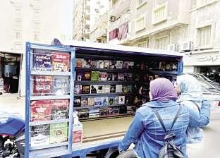 «ميدو» يشجّع الناس على شراء الكتب بتروسيكل «القراءة للجميع»