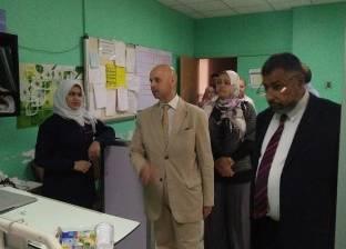 """وكيل """"صحة الشرقية"""" يتفقد مستشفى الأحرار التعليمي أول أيام العيد"""