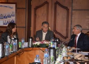 بالصور| محافظ دمياط تستقبل وزير النقل لمناقشة تنفيذ مشروعات بالميناء