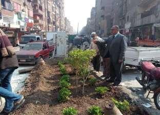 """نور الدين: استكمال بناء سور """"المفارق"""" ورفع كفاءة الأرصفة بشمال الجيزة"""