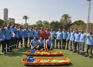 """خطة إسعافية متكاملة لتأمين """"أمم أفريقيا"""".. وناقلات لأول مرة بالملاعب المصرية"""