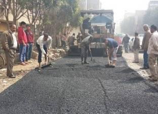 """مدير """"الطرق"""" بالشرقية يشدد على سرعة الانتهاء من المشروعات المفتوحة"""