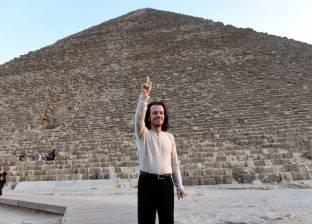 وزير الآثار في زيارة تفقدية لمنطقة الهرم