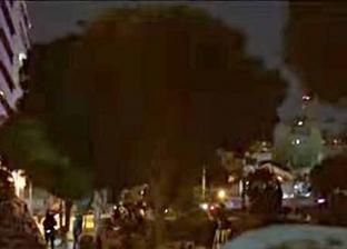 """ناشطون لـ""""سكاي نيوز"""": الأمن يحاول حماية المتظاهرين من الاعتداءات"""