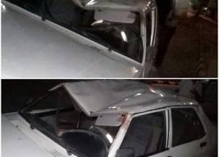 """إصابة 3 مواطنين في انقلاب سيارة على الطريق الإقليمي """"الضبعة - القاهرة"""""""