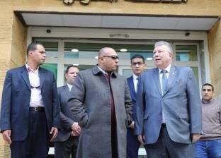 """محافظ المنوفية ورئيس """"حماية المستهلك"""" يتفقدان المقر الجديد بشبين الكوم"""
