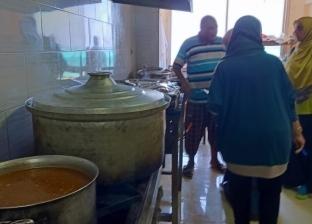 35 محضر مخالفات وإعدام 120 كيلو مواد غذائية فاسدة بحملة مكبرة بمطروح