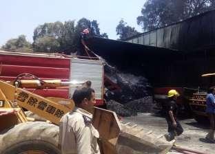 السيطرة على حريق هائل بمنصع أدوية في المنطقة الصناعية بأكتوبر