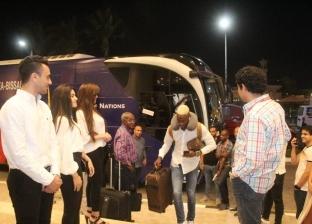 بعثة منتخب غينيا بيساو تصل إلى مقر إقامتها في الإسماعيلية