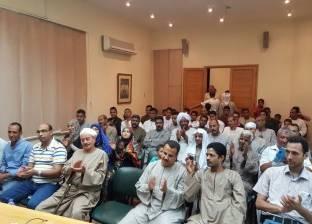 """السيرة الهلالية بقنا تحتفل بـ""""عبدالناصر"""" باحتفالية شعرية"""