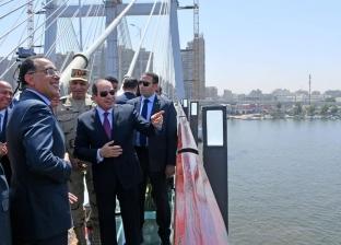 صحف العالم عن كوبري «تحيا مصر»: أهرامات مصرية معلقة حطمت الأرقام القياسية