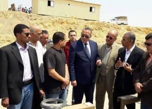 الدالي: اسكان جرزا يضم 2554 وحدة سكنية بتكلفة 350 مليون جنيه
