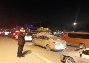 تحويلات مرورية في منطقة أحمد عرابي بالجيزة