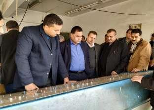 """رئيس """"السكة الحديد"""" يتفقد مشروعات تطوير  خط """"القاهرة - الإسكندرية"""""""