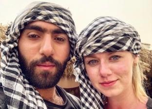 أوكرانية متزوجة من مصري: بعشق الكوارع وبنكد عليه عشان مينزلش القهوة
