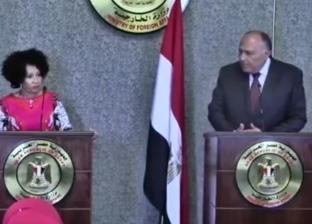 وزيرا خارجية مصر جنوب أفريقيا يؤكدان عمق العلاقات الوثيقة بين البلدين