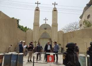بالصور| مدير أمن الفيوم يتفقد الكنائس.. ويوجه بتوسيع الاشتباه