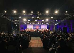 بالصور| الكنيسة الإنجيلية تحتفل بتدشين كورالها الأول بحضور ألفي شخص