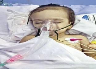 خطأ طبى يصيب الرضيعة «رودينا» بشلل واحتجازها فى «العناية المركزة» منذ 35 يوماً